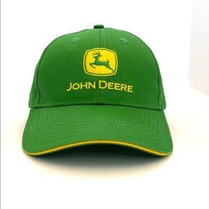 Iconic John Deere Men's Logo'd Baseball Style Cap